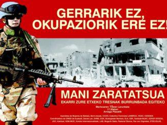 Gerrarik ez Manifestazioa 15-3-2008 01