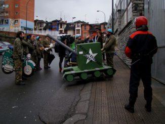 Acción Carnavales 13-2-2010 01