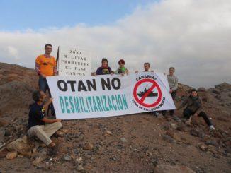 No a la OTAN Canarias Marzo 2014 1