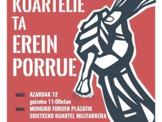 Cartel Marcha a Soietxe 2016