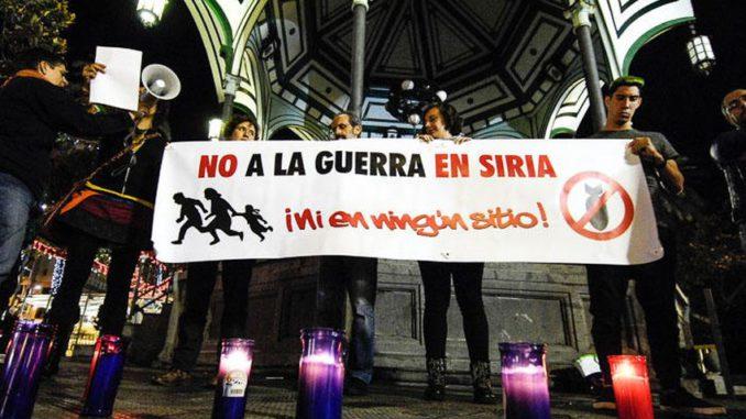 No a la guerra en Siria Las Palmas 23-12-2016 2