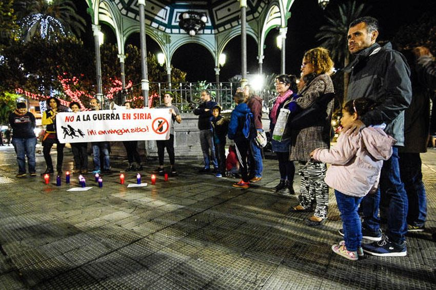 No a la guerra en Siria Las Palmas 23-12-2016 3