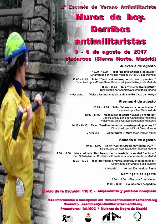 Escuela de Verano Antimilitarista 2017 3